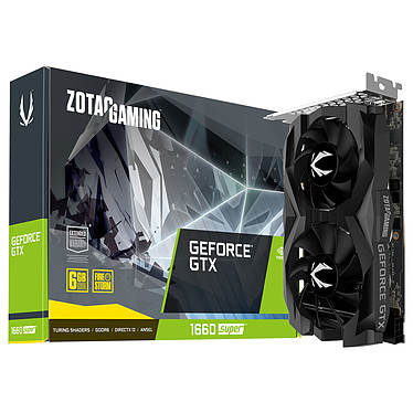 ZOTAC GeForce GTX 1660 SUPER Twin Fan 6 Go GDDR6 - HDMI/Tri DisplayPort - PCI Express (NVIDIA GeForce GTX 1660 SUPER)