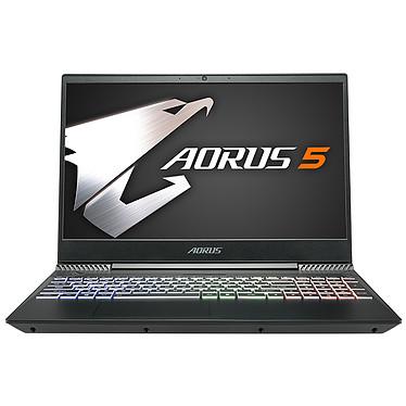 "AORUS 5-NA-7FR1330SH Intel Core i7-9750H 16 Go SSD 512 Go 15.6"" LED Full HD 144 Hz NVIDIA GeForce GTX 1650 4 Go Wi-Fi AC/Bluetooth Webcam Windows 10 Famille 64 bits"
