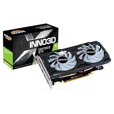 INNO3D GeForce GTX 1660 Ti  TWIN X2 OC RGB 6 Go GDDR6 - HDMI/Tri DisplayPort - PCI Express (NVIDIA GeForce GTX 1660 Ti)