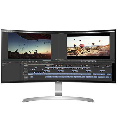 "LG 34"" LED - 34UC99-W 3440 x 1440 pixels - 5 ms - 21/9 - Dalle IPS incurvée - FreeSync - HDMI/DisplayPort/USB-C - Noir/Blanc"