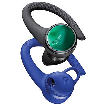 Plantronics BackBeat FIT 3150 Noir/Bleu Écouteurs semi intra-auriculaires True Wireless sport semi-ouverts - Bluetooth 5.0 - Autonomie 8 h - IP57 - Commandes/Micro - Boîtier charge/transport