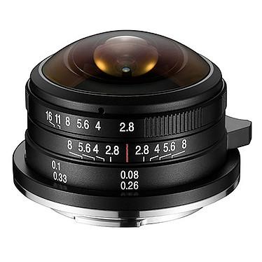 Laowa 4mm f/2.8 Fisheye Micro 4/3 Objectif ultra grand-angle 4 mm f/2.8, monture Micro 4/3, compatible hybride