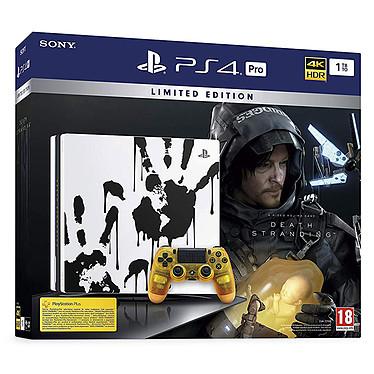 Sony PlayStation 4 Pro (1TB) - Death Stranding Limited Edition Consola de videojuegos Ultra HD 4K con disco duro de 1 TB ycontrolador de juego inalámbrico + Death Stranding