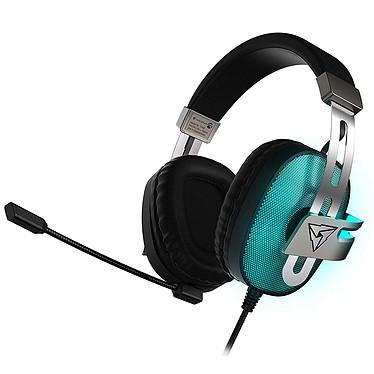 ThunderX3 TH40 Casque-micro pour gamer - circum-aural fermé - son surround 7.1 - microphone détachable - USB - rétroéclairage 7 couleurs - compatible PC