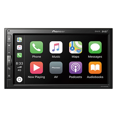 "Pioneer SPH-EVO62DAB-UNI Système multimédia 1DIN avec écran tactile 6.8"", USB, compatible Bluetooth, iPod/iPhone, Waze, Apple CarPlay et Android Auto"