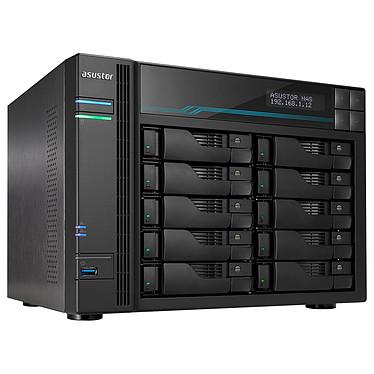 ASUSTOR AS6510T Barebone Serveur NAS 10 baies 8 Go DDR4 Intel Atom C3538 - 2x 10 GbE + 2x 2.5 GbE
