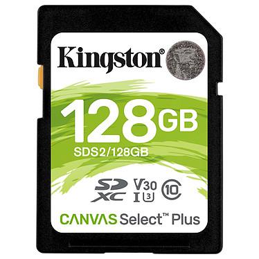 Kingston Canvas Select Plus SDS2/128GB Tarjeta de memoria SDXC UHS-I U3 Clase 10 Clase V30 128 GB
