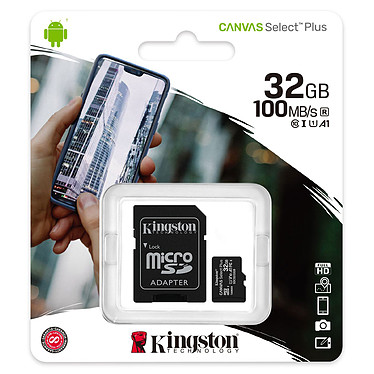 Avis Kingston Canvas Select Plus SDCS2/32GB