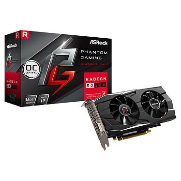 ASRock Phantom Gaming D Radeon RX580 8G OC 8 Go DVI/HDMI/Tri DisplayPort - PCI Express (AMD Radeon RX 580)