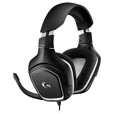 Logitech G332 SE Auriculares gaming con cable - circum-aurales cerrados - micrófono unidireccional plegable - compatible con PC, PlayStation 4, Xbox One y móviles