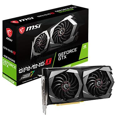 MSI GeForce GTX 1650 SUPER GAMING X 4 Go GDDR6 - HDMI/Tri DisplayPort - PCI Express (NVIDIA GeForce GTX 1650 SUPER)