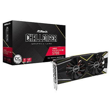 ASRock Radeon RX 5700 Challenger D 8G OC 8 Go GDDR6 - HDMI/Tri DisplayPort - PCI Express (AMD Radeon RX 5700)