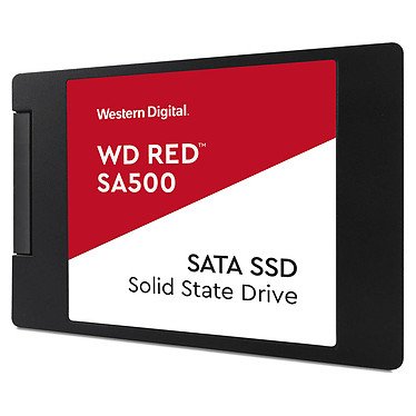 "Western Digital SSD WD Red SA500 4 To SSD 4 To 2.5"" 7mm Serial ATA 6Gb/s pour NAS"