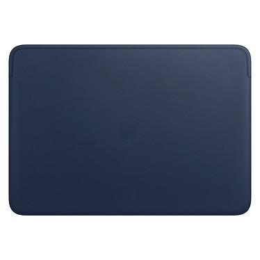 """Apple Housse Cuir MacBook Pro 16"""" Bleu nuit Housse en cuir pour MacBook Pro 16"""""""
