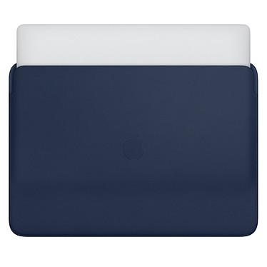 "Avis Apple Housse Cuir MacBook Pro 16"" Bleu nuit"