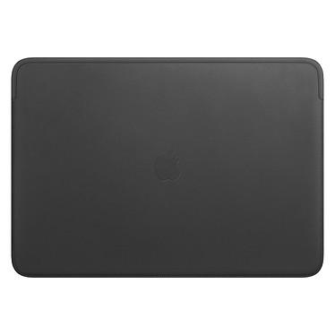 """Apple Housse Cuir MacBook Pro 16"""" Noir Housse en cuir pour MacBook Pro 16"""""""