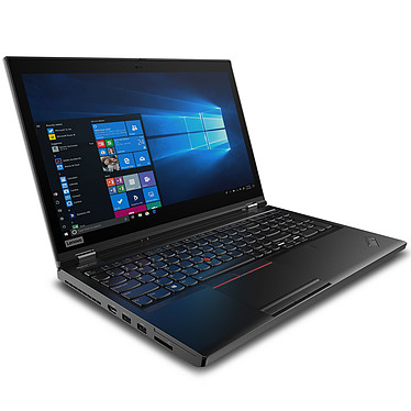 "Lenovo ThinkPad P53 (20QN000EFR) Intel Core i7-9750H 8 Go SSD 256 Go 15.6"" LED Full HD NVIDIA Quadro T1000 4 Go Wi-Fi AX/Bluetooth Webcam Windows 10 Professionnel 64 bits"