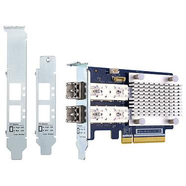 QNAP QXP-16G2FC Carte réseau Dual Port SFP+ 16 Gbps pour NAS QNAP