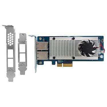 QNAP LAN-10G2T-X550 Tarjeta de red de 10 Gigabit Ethernet de doble puerto para NAS compatible con QNAP