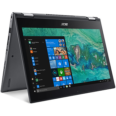 "Acer Spin 5 Pro SP513-53N-70J5 Intel Core i7-8565U 8 Go SSD 512 Go 13.3"" LED Tactile Full HD Wi-Fi AC/Bluetooth Webcam Windows 10 Professionnel 64 bits"