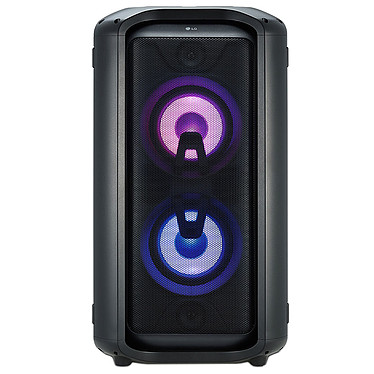 LG RK7 Enceinte de fête - 550 Watts - Bluetooth 4.2 aptX-HD - Effets lumineux - FM/USB - Prise micro - Modes Karaoké/DJ