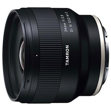 Tamron 24 mm f/2.8 Di III OSD M1:2 Sony FE Objectif grand-angle plein format 24mm à ouverture f/2.8 et conception tropicalisée pour monture Sony FE