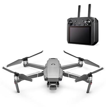 DJI Mavic 2 Pro avec Smart Controller Quadricoptère compact avec caméra embarquée 4K, portée 6000 m et compatible iOS et Android et radiocommande Smart Controller