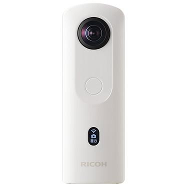 Ricoh Theta SC2 Blanc Caméra 360° - Double capteur 12 mégapixels - f/2.0 - Vidéo 4K 30p - Mémoire 14 Go - Ecran OLED - Wi-Fi/Bluetooth