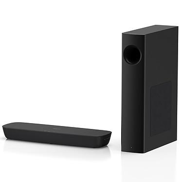 Panasonic SC-HTB250 Noir Barre de son 2.1 120 Watts avec caisson de basses sans fil, Bluetooth, entrée HDMI et port USB
