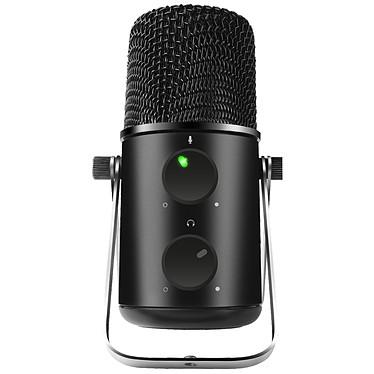 Spirit of Gamer EKO500 Microphone cardioïde USB en métal avec pieds réglables pour gaming et streaming (PC/MAC)