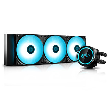 Deepcool Gammaxx L360 V2 Kit de Watercooling pour processeur avec éclairage LED RGB