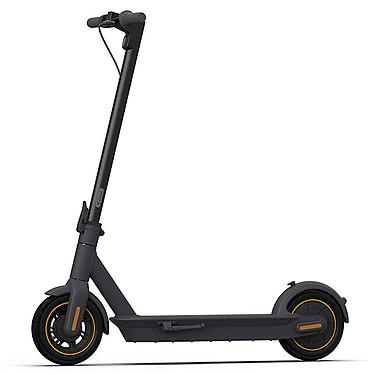 Segway Ninebot KickScooter MAX G30 Trottinette électrique pliable IPX5 - 25 km/h - Autonomie 65 km - Feux avant et arrière - feux stop et réflecteurs latéraux et arrière - Sonnette intégrée - Poids maximal 100 kg