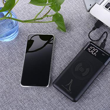 Akashi Batterie de Secours 10000 mAh Wireless pas cher