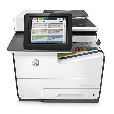 HP PageWide Entreprise MFP 586dn Imprimante multifonction à impression HP PageWide recto/verso automatique (USB 2.0/Ethernet/NFC)