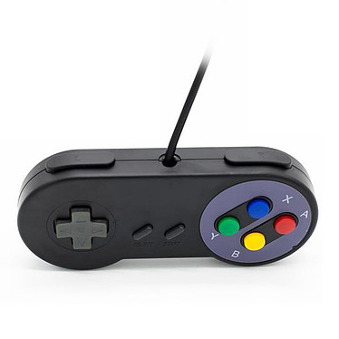 Opiniones sobre Mando USB para retrogaming Negro(Nintendo Super NES)