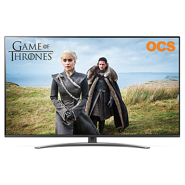 "LG 55SM8200 Téléviseur LED 4K Ultra HD 55"" (140 cm) 16/9 - 3840 x 2160 pixels - HDR - Wi-Fi - Bluetooth - 2300 Hz - Son 2.0 20W"