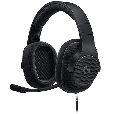 Logitech G433 7.1 Surround Sound Wired Gaming Headset Noir Casque-micro 7.1 filaire pour gamer (compatible PC, Xbox One, PS4, Switch)