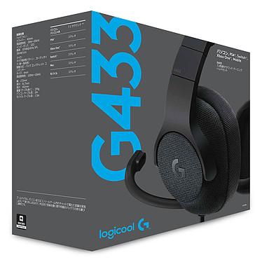 Acheter Logitech G433 7.1 Surround Sound Wired Gaming Headset Noir