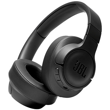 JBL TUNE 750BTNC Noir Casque supra-auriculaire sans fil - Bluetooth 4.2 - Réduction de bruit active - Commandes/Micro - Autonomie 15h - Conception pliable