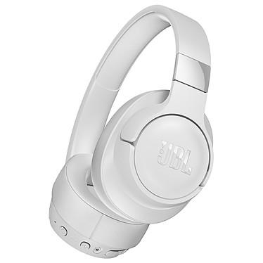JBL TUNE 750BTNC Blanc Casque circum-auriculaire sans fil - Bluetooth 4.2 - Réduction de bruit active - Commandes/Micro - Autonomie 15h - Conception pliable