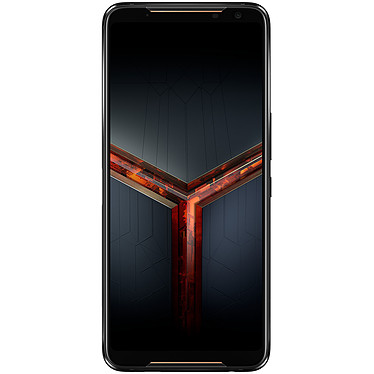 "ASUS ROG Phone II Strix Edition Noir Smartphone 4G-LTE Advanced Dual SIM - Snapdragon 855+ 8-Core 2.96 GHz - RAM 8 Go - Ecran tactile AMOLED 6.59"" 1080 x 2340 - 128 Go - Bluetooth 5.0 - 6000 mAh - Android 9.0"