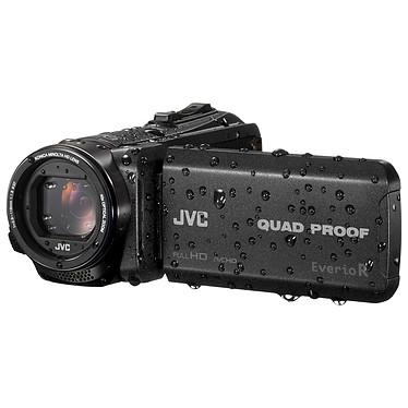 """JVC GZ-R445 Noir Caméscope Full HD tout-terrain - Zoom optique 40x - Stabilisateur d'image - Ecran LCD tactile 3"""" - HDMI - Mémoire interne 4 Go - Slot SD"""