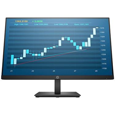 "HP 24"" LED - P244 1920 x 1080 pixels - 5 ms - Format large 16/9 - Dalle IPS - HDMI / DisplayPort / VGA - Noir"
