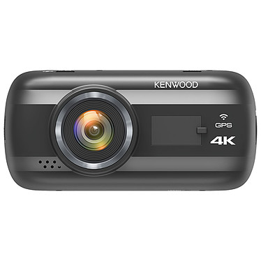 Kenwood DRV-A601W Caméra embarquée 4K HD (3840 x 2160p à 30fps), Wi-Fi, accéléromètre G-Sensor 3 axes et GPS intégré