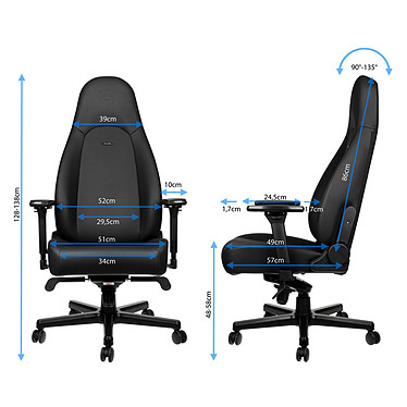 Noblechairs Icon Black Edition pas cher