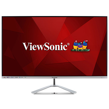 "ViewSonic 32"" LED - VX3276-4K-MHD 3840 x 2160 pixels - 4 ms (gris à gris) - Format 16/9 - Dalle VA - HDR - HDMI/DisplayPort/Mini DisplayPort - Noir"