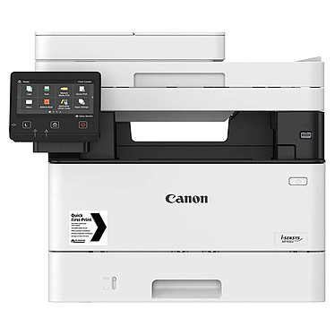 Canon i-SENSYS MF446x Imprimante multifonction laser monochrome 3-en-1, recto/verso automatique, écran LCD couleur tactile (USB 2.0 / Wi-Fi / Gigabit Ethernet / AirPrint / Google Cloud Print)