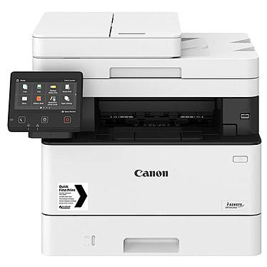 Canon i-SENSYS MF443dw Imprimante multifonction laser monochrome 3-en-1, recto/verso automatique, écran LCD couleur tactile (USB 2.0 / Wi-Fi / Gigabit Ethernet / AirPrint / Google Cloud Print)