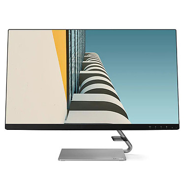 "Lenovo 27"" LED - Q27q-10 2560 x 1440 pixels - 4 ms - Format 16/9 - Dalle IPS - 75 Hz - FreeSync - HDMI/DIsplayPort - Noir"
