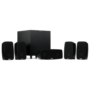 Onkyo TX-NR575E Noir + Klipsch Reference Theater Pack pas cher